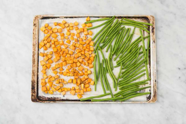 Roast Green Beans