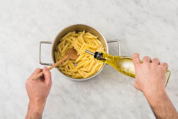 Drain Pasta