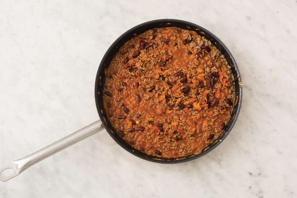 Add the sauce