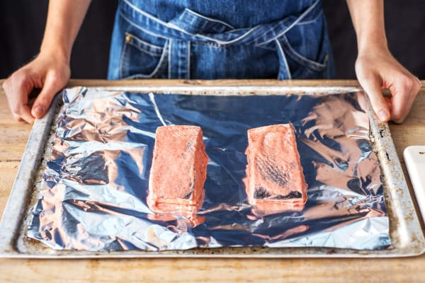 Grill the Salmon