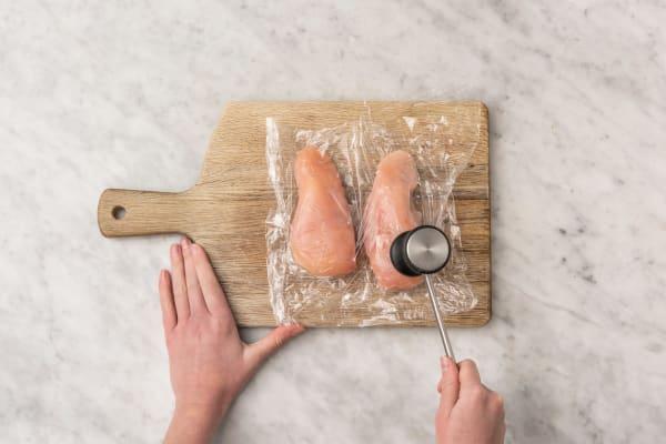 Prepping Chicken