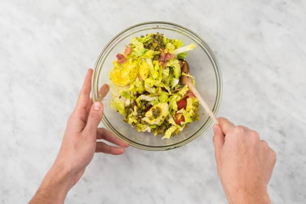 Salade mengen