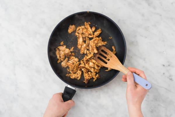 Cuire le gyros de poulet