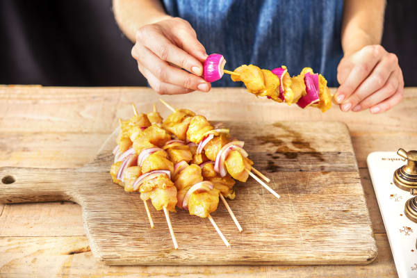 Assemble the Skewers