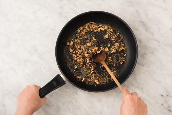 Honing-tijmwalnoten maken