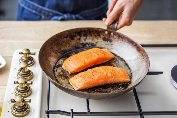 Fry the Salmon