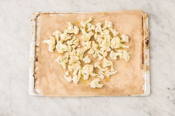 Roast the cauliflower