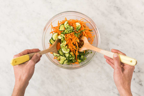 Toss Salad and Cook Rice
