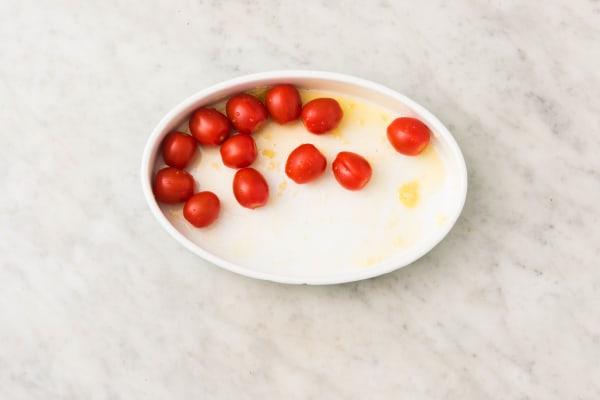 Tomaten in de oven