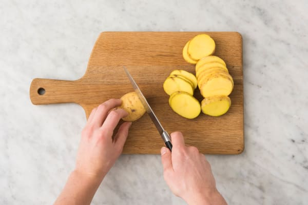 Précuire les pommes de terre