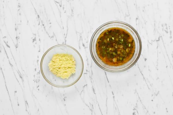 Make Pesto and Ginger Butter