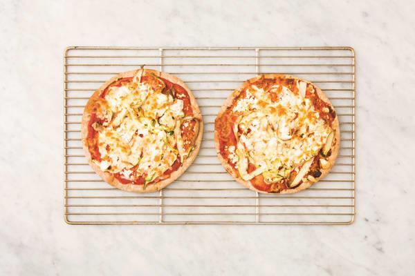 BAKE THE PIZZAS