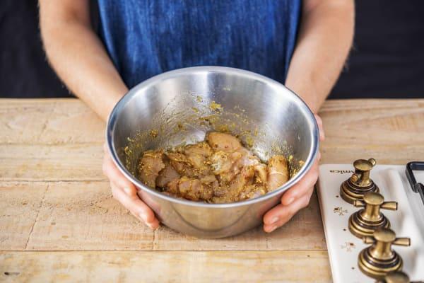 Marinate the Chicken