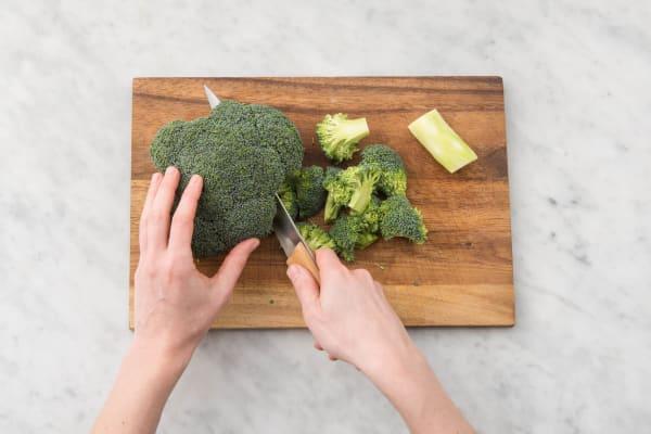 Rigatoni en broccoli koken