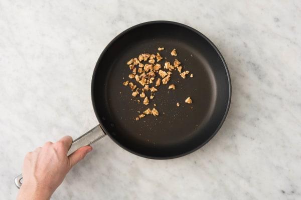 Griller les noix