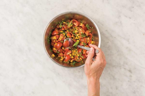 Make the salsa