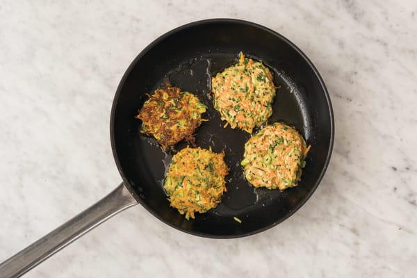 Cook fritters