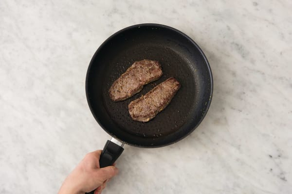 Cook the lemon-pepper beef