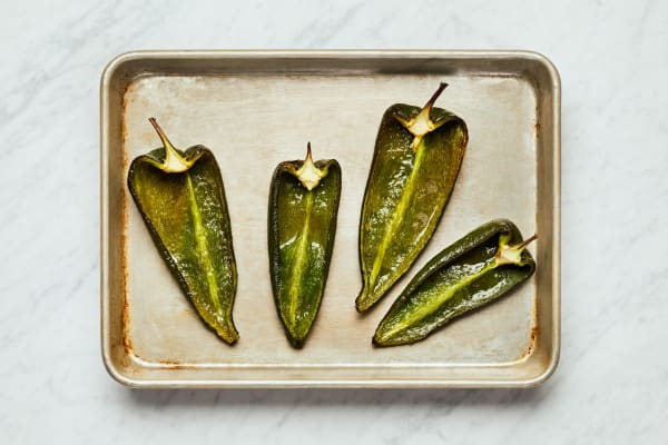 Roast Peppers and Make Crema