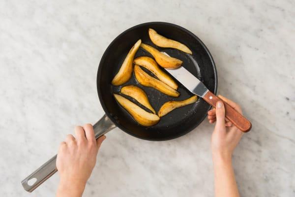 Cuire les poires