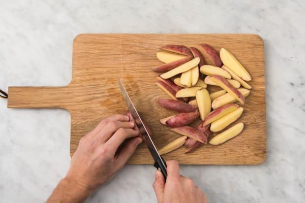 Rôtir les pommes de terre