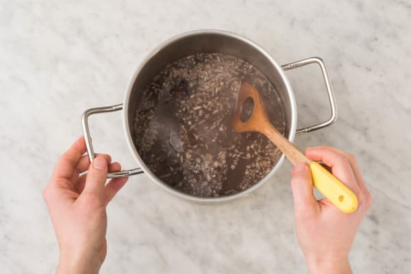 Préparer le bouillon