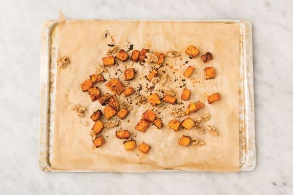 Roast the pumpkin