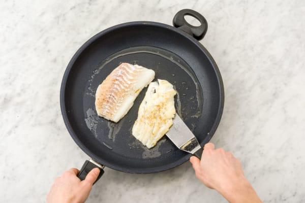 Cuire le poisson