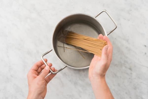 Cuire les spaghetti
