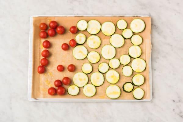 Rôtir les légumes