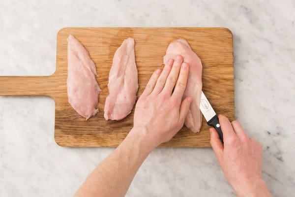 Add spice to the chicken