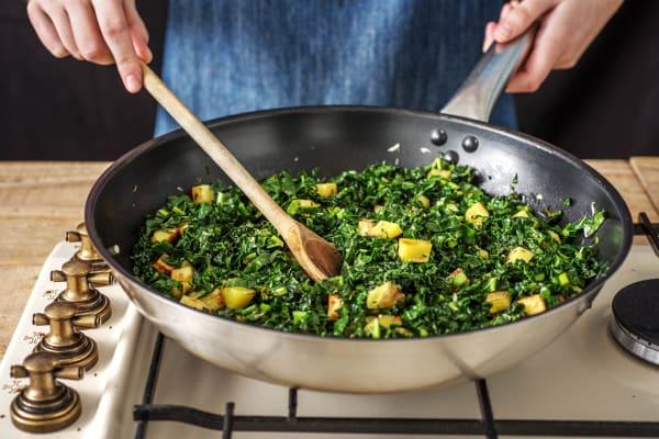Garlicky Greens
