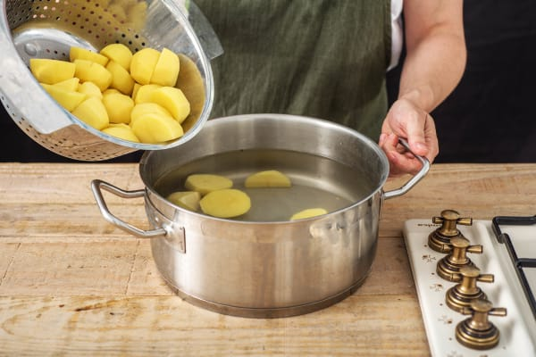 Get your Potatoes Boiling