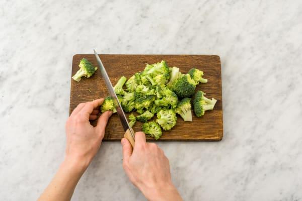 Cuire le brocoli à l'eau