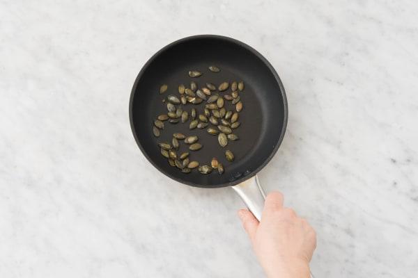 Griller les grains