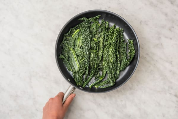 Steam-Fry your Greens!