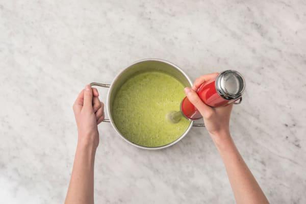 Mixer la soupe