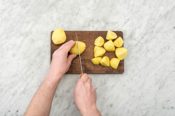 Cuirre les pommes de terre