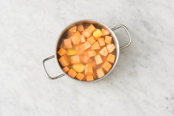 cuire à l'eau