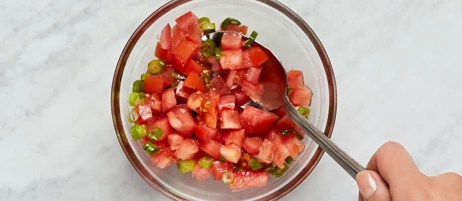 Prep and Make Salsa Fresca