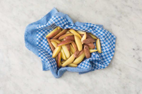 Aardappelen voorkoken
