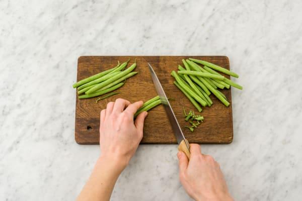 trim beans