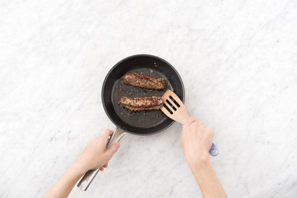 Sear the steak