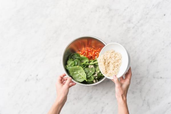 Make the couscous salad