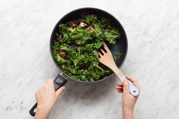 Curly Kale zufügen