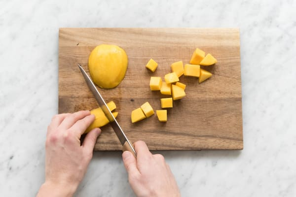 Mango würfeln