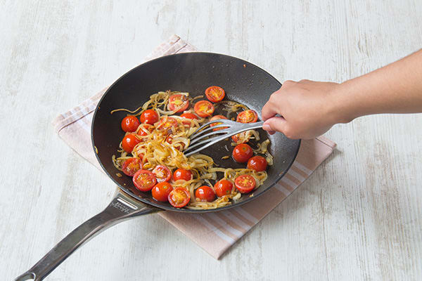 Add tomatoes.