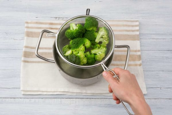 Cook broccoli