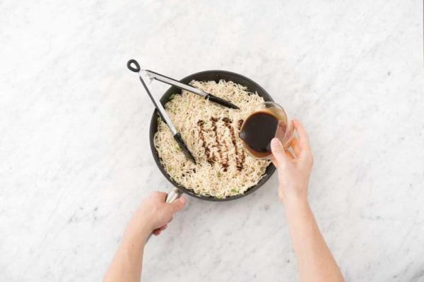 Steam noodles
