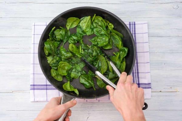 Wilt spinach